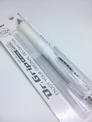 Dr.Grip G・Spec White