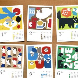 切り絵作家 YUYAカレンダー2020
