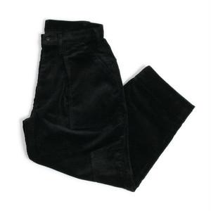 TUKI (ツキ) 0100 【COMBAT PANTS 】 (CORDUROY) コンバットパンツ (EBONY)