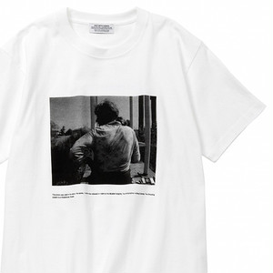 "POET MEETS DUBWISE ""PHOTO 2"" Tシャツ/ホワイト"