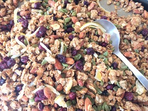 LEMON GRANOLA 400g[Large Bag]