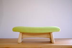 ゴイチ スエード グリーン 座椅子