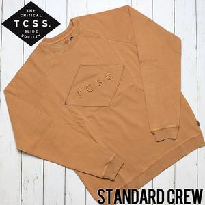 [クリックポスト対応] TCSS ティーシーエスエス STANDARD CREW スウェットトレーナー FC1825