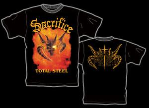 "SACRIFICE ""Total Steel"" オフィシャル Tシャツ"