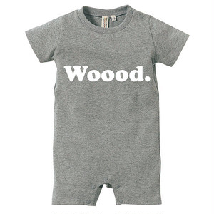Woood. Rompers Gray for Kids