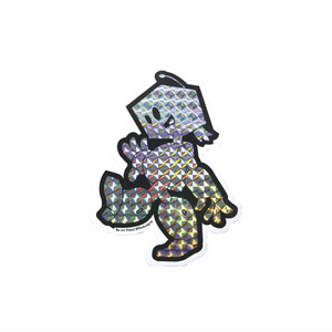 PRISMATIC UNDERCUT STICKER