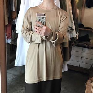 gloss over long sleeve t-shirt