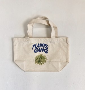 Plants Gang  mini tote bag (tillandsia xerographica)