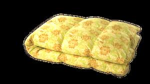 ワンエムフォー21 羽毛掛けふとん セミダブル(175×210cm)1.55kg