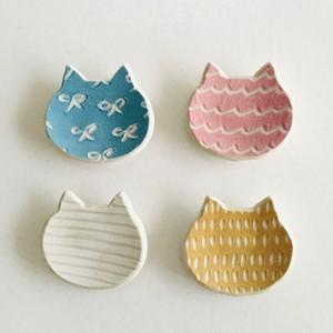 砥部焼atelier chie 箸置きネコ