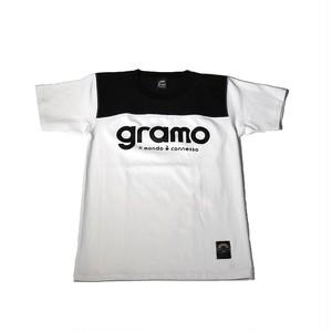Tシャツ「tact」(ホワイト/T-015)
