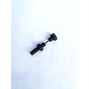 ネジ ボルト スクリュー 釘 クギ くぎ ピアス メンズ レディース ブラック 黒 BLACK 1482