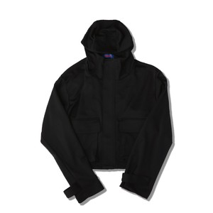 SHORT JERSEY MOUNTAIN PARKA / BLACK