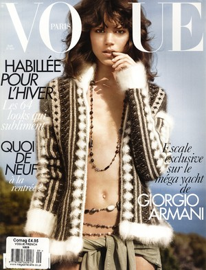 VOGUE PARIS #909 Aout 2010