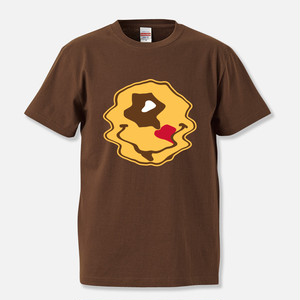 "Hexagon Eye ""ACID"" T-shirt / BROWN(Limited Edition)"