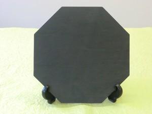 雄勝 石の八角皿 210mm