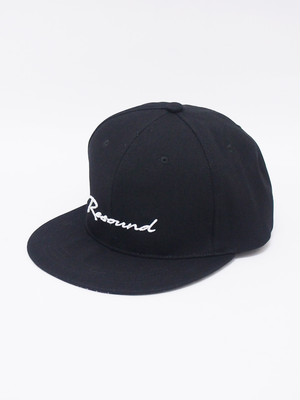 RESOUND CLOTHING (リサウンドクロージング) RESOUND BB CAP / BLACK RC-BASIC-CAP18-2