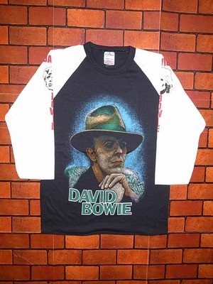 DAVID BOWIE 80'S T-SHIRTS