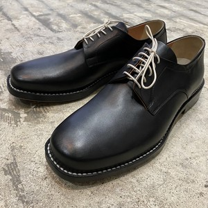 EARLE / Stitch down blucher / BLACK