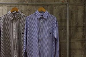 Design embroidery stripe shirt