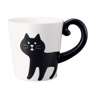 しっぽマグ(黒猫・三毛猫)
