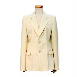 メゾンマルジェラ (Maison Margiela ) テーラードジャケット オフホワイト