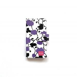 北欧デザイン iPhone手帳型ケース  | matthew purple