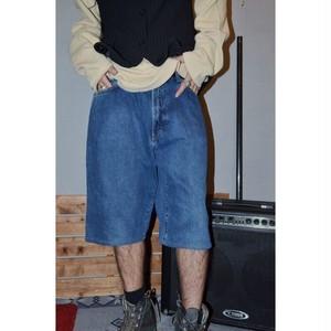90's RRL denim half pants