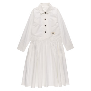 【再入荷】【送料無料】CUT JUMPSUITS DRESS / WHITE