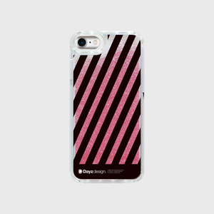 STRIPES MOVING GLITTER PINK by HRS19.8.0【スマホケース】