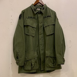 """60's US Armed ForcesJungle Fatigue Jacket """"3rd Pattern"""""""