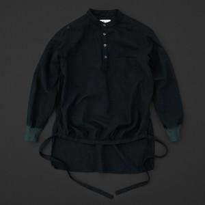 エンゲイシャツ 黒×緑