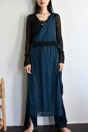 RehersalL one shoulder lace apron