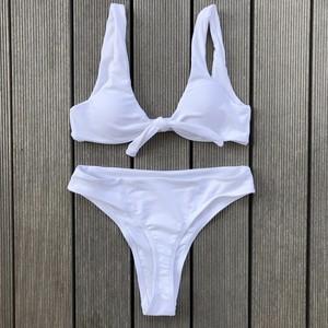 Bikini♡フロントタイタンキニ ホワイト