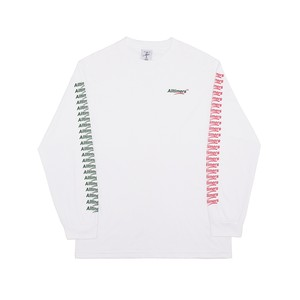 ALLTIMERS / COUNT IT UP L/S TEE -WHITE-