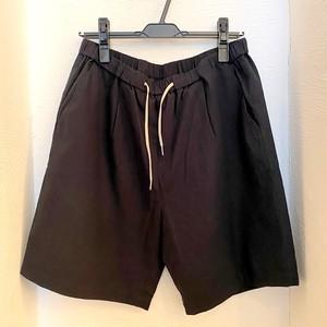 Tech-Linen Short Pants Black