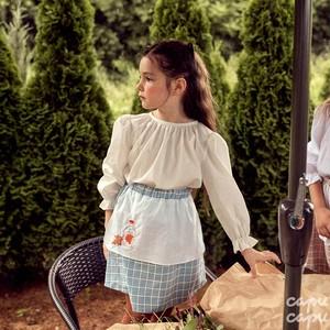 «sold out»«pour enfant» メイプルスカート maple skirt