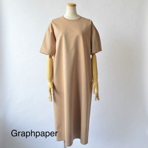 Graphpaper/グラフペーパー・Round Neck Sweat Dress