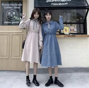 全2色♡ リボン付きワンピース♡