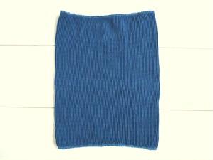 ◆100%自然素材 天然灰汁発酵建て 本藍染◆ シルク腹巻