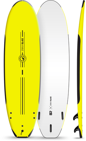 Storm Blade 9ft SSR Surfboard / Yellow