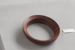 vintage shape wood bangle