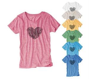 【送料無料】Blooming Love レディースTシャツ