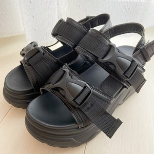 double belt sandal[6/17n-26]