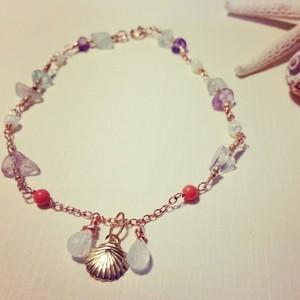 14kt GF aloha bracelet