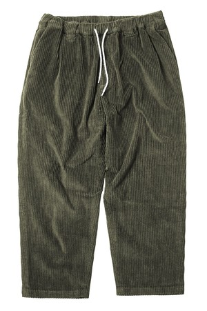 TIGHTBOOTH BAGGY CODE PANTS OLIVE L タイトブース コーデュロイ  パンツ