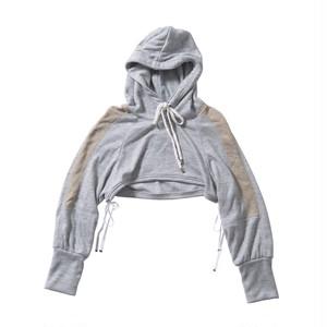 short mitsuami parka #gray