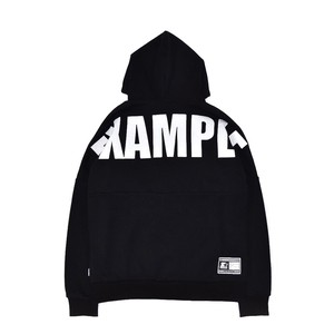 EXAMPLE x STARTER BIG BACK LOGO HOODIE / BLACK