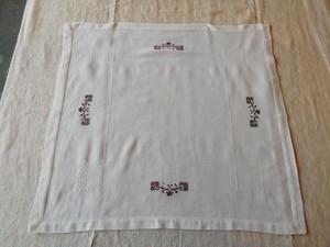 【Skantique 】茶色糸刺繍⑦
