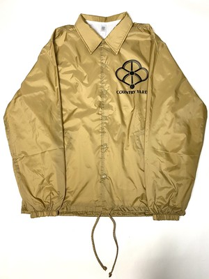 Nylon Coach Jacket Sand